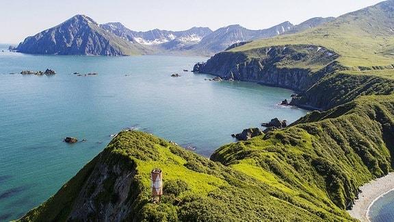 Die Insel Morzhovy.