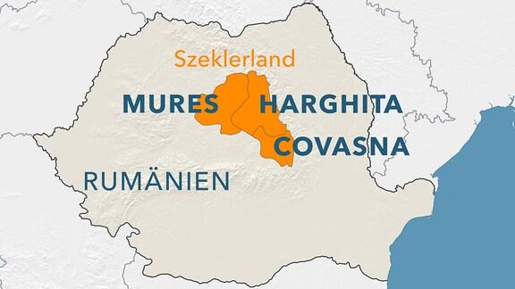 Szeklerland in Rumänien