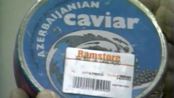 Kaviar aus Aserbaidschan.