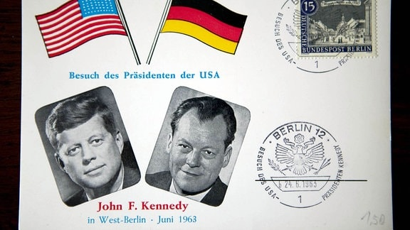Ersttagsbrief JFK in West-Berlin