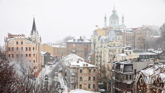 Kiew - Stadtansicht im Winter