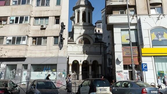 Umstrittenes Fresko in der Sankt-Nikolaus-Kirche in Bukarest