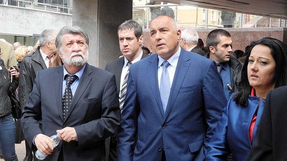 Bulgariens Ministerpräsident Boiko Borissov.