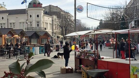 Fußgängerzone Mitrovica, Süd