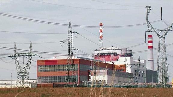 Kraftwerk Temelín