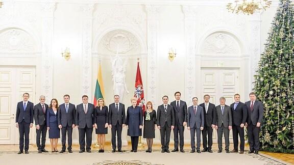 Dalia Grybauskaitė, XVII Regierung. Dezember 2016