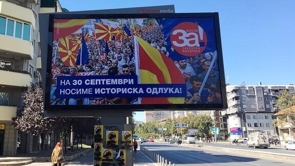 Mazedonien Abstimmung