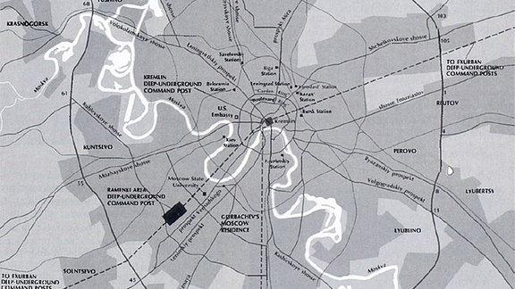 Metro 2 Moskau US-Verteidigungsministerium