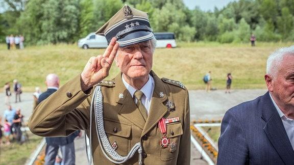 Polnischer Kriegsveteran