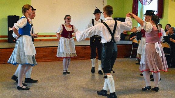Volkstanzgruppe in Opole/Oppeln