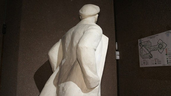 """Wladimir Lenin im Museum """"Platz der Welt"""" im sibirischen Krasnoyarsk"""