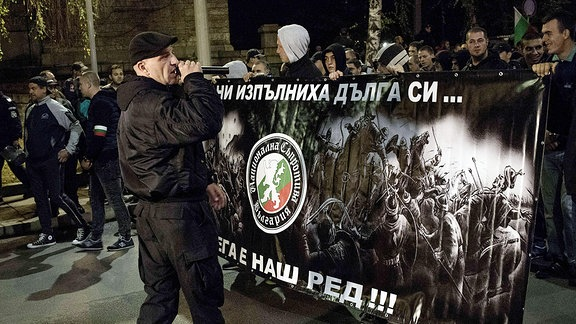 Bulgarische Nationalisten demonstrieren in Sofia