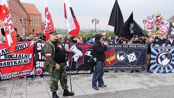 Proteste gegen Neonazi-Festival in Ostritz
