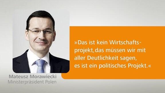 Bild eines Politikers und ein Kommentar.