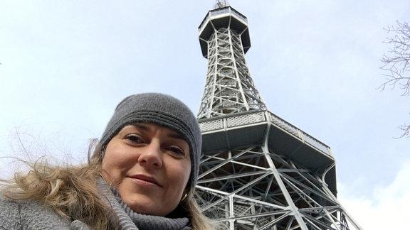 Ein Selfie von der Ostbloggerin Helena Sulcova.