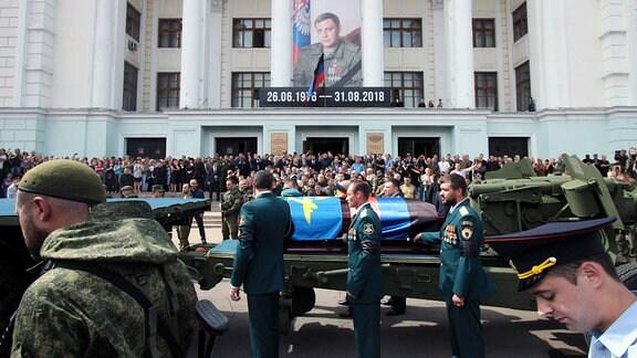 Trauerzug für Sachartschenko