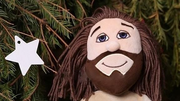 Plüsch-Jesus
