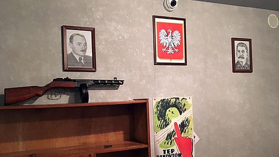 Institut  für Nationales Gedenken, hier kann man die Befreiung von Partisanen nachspielen