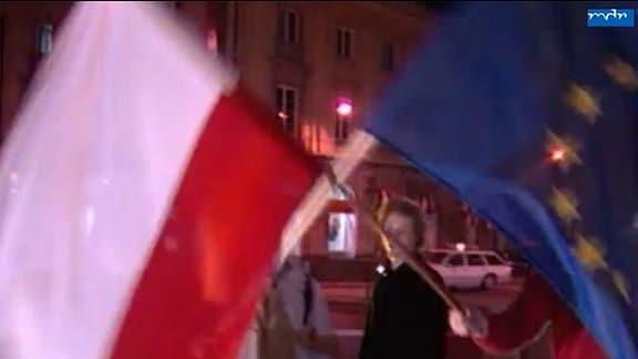 Erleichterung in Polen