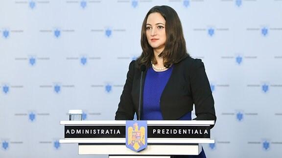 Sprecherin des rumänischen Präsidenten, Madalina Dobrovolschi