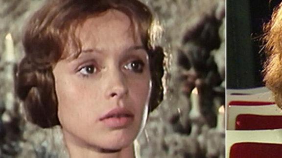 Katrin Martin als Rosenrot 1979 und  Katrin Martin 2013