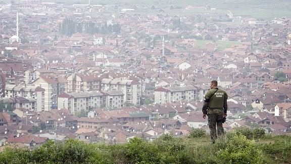 Das Bundeswehrfeldlager Prizren im Kosovo