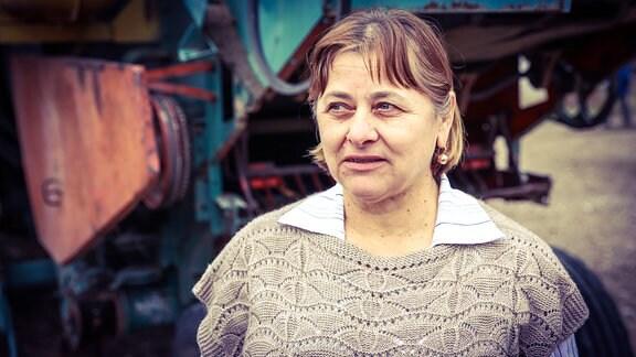 Vera Semionov, Chefin der LPG von Dorotcaia in Moldavien