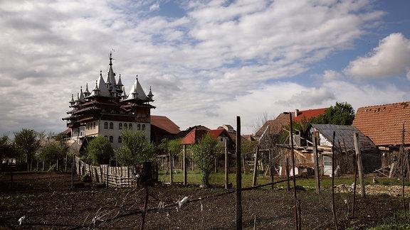 Roma-Bau in Sibiu