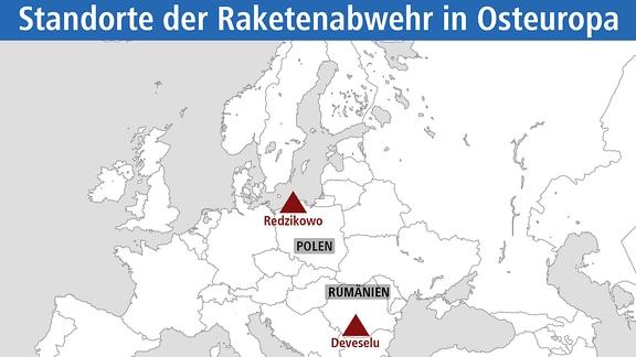 Raketenabwehr in Osteuropa