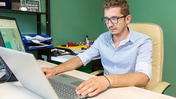 Razvan Rusan, Chef der Rekrutierungsfirma Silverhand in Timisoara (Rumänien)