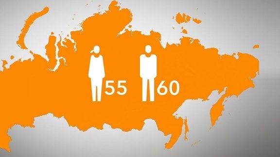 Landkarte, Menschen, Zahlen