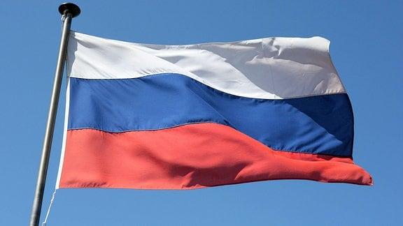 Russische Nationalflagge