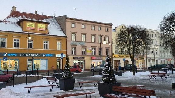 Marktplatz von Sagan