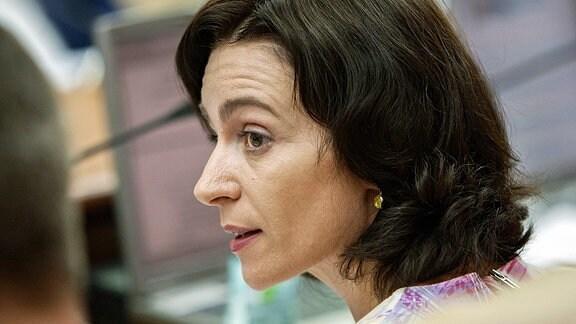 Maia Sandu Republik Moldau Ex-Ministerin