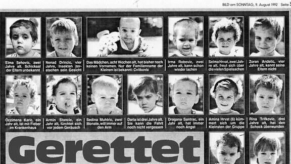Ausschnitt Bildzeitung