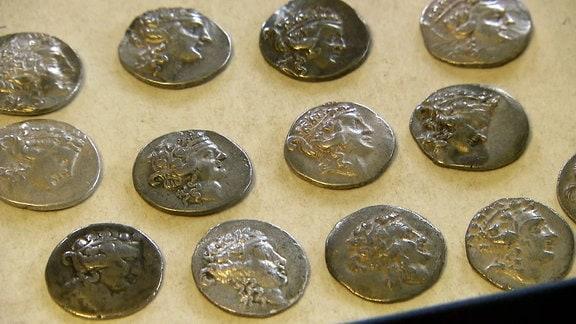 Antike Münzen aus Bulgarien