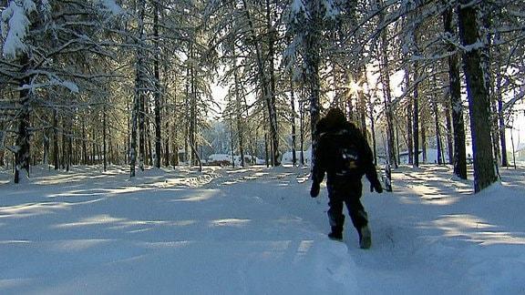 Filmszene aus 'Die gefährlichsten Schulwege der Welt - Sibirien'.
