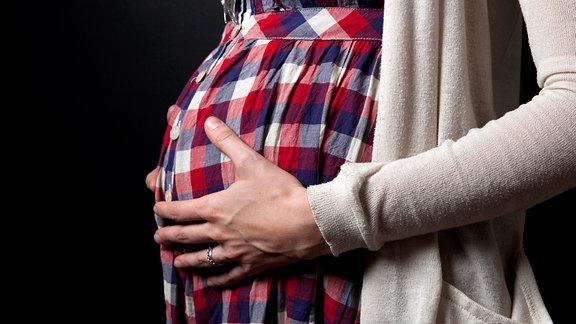 Eine Schwangere