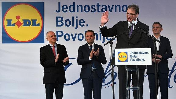 Aleksandar Vucic, Präsident von Serbien