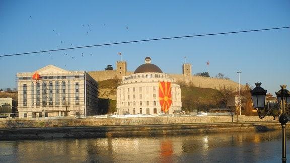 Skopje in Mazedonien