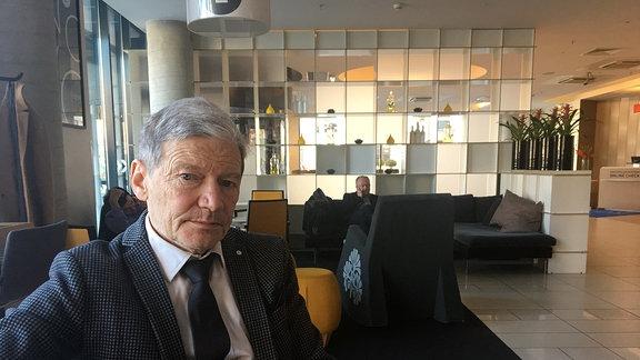 Schrifsteller Markas Zingeris.