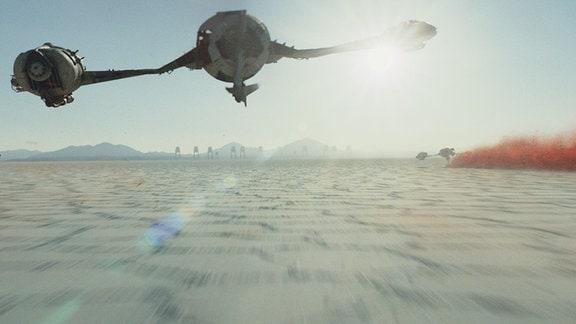 Landebahn für Raumschiffe