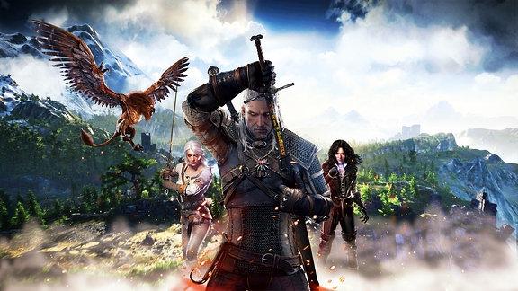Geralt von Riva, Hauptfigur aus der Witcher-Spielserie