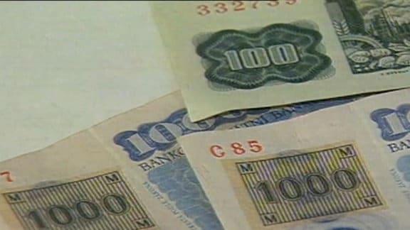 Tschechische Kronen