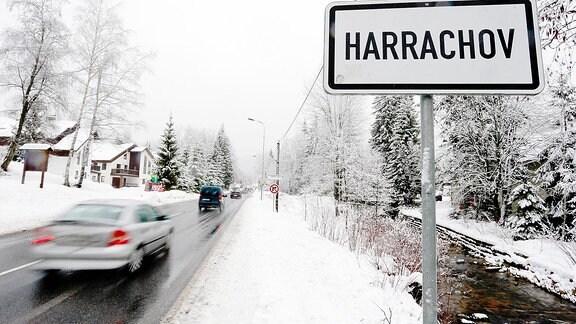 Tschechischer Skiort Harrachov