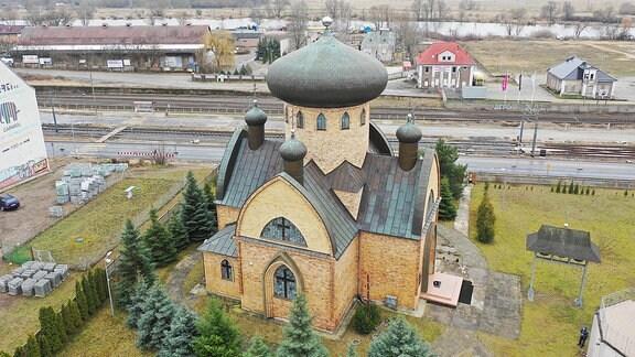 Außenansicht einer Kirche