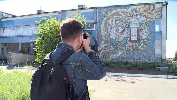 Evgeniy Nikiforov - Wandmosaike aus Sowjetzeiten