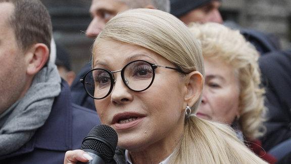 Julija Tymoschenko, ehemalige Ministerpräsident der Ukraine