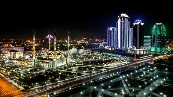 Tschetscheniens Hauptstadt Grozny