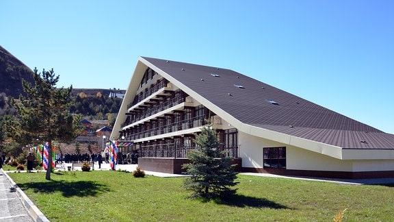 Tourismusstützpunkt in Tschetschenien